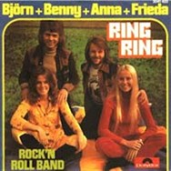 Even the earliest ABBA singles were released in West Germany.