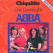 The Chiquitita sleeve used in Hungary.