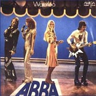 ABBA were popular behind the Iron Curtain, as this East German issue of the Waterloo album proves.