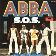 The West German sleeve for the SOS single.