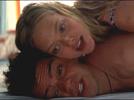 Amanda Seyfried and Dominic Cooper in one of the deleted scenes from Mamma Mia! The Movie.