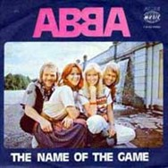 This Yugoslavian sleeve for The Name Of The Game featured an inversed version of the ABBA logo.