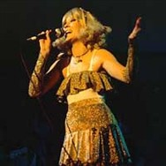 Agnetha as The Girl With The Golden Hair on the 1977 tour.