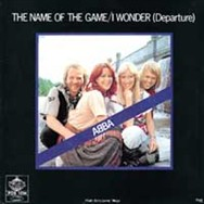The original Swedish sleeve for the single, released in October 1977.