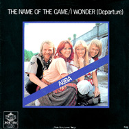 The Swedish sleeve for The Name Of The Game, the first single to be released from the album sessions.