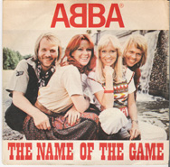 This sleeve was used when The Name Of The Game was released as a single in Italy.