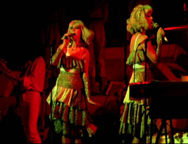 Agnetha and Frida performing I'm A Marionette, complete with marionette-like choreography.