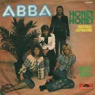 This was the Honey, Honey single sleeve used in West Germany.