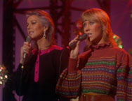 Frida and Agnetha performing I Have A Dream, available on the new Number Ones DVD.