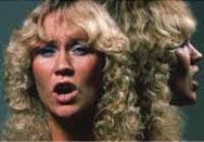 One Of Us was the major hit single from The Visitors; here is Agnetha in the video.